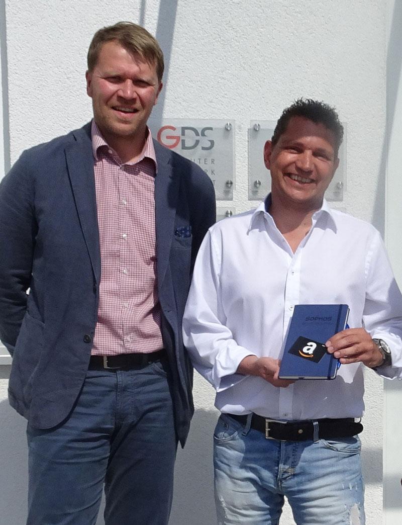 Gallery GDS mbH gewinnt die Sophos Silver Star Kampagne GDS mbH gewinnt die Sophos Silver Star Kampagne