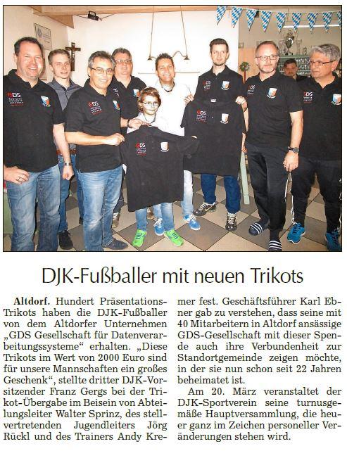 Landshuter Zeitung, März 2016