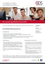 Social Media Marketing (m/w)